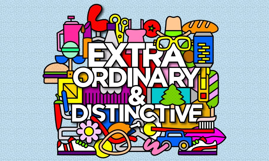 EXTRA ORDINARY & DISTINCTIVE
